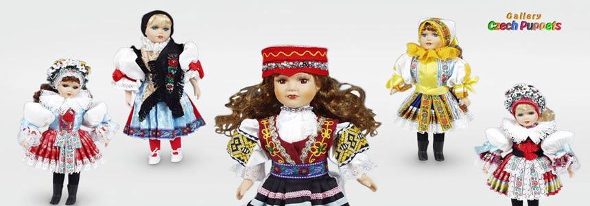 Muñecas en trajes nacionales