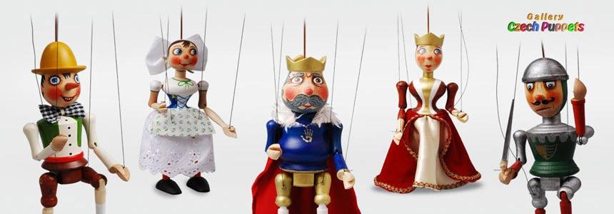 Marionetas de madera