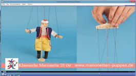 Cómo controlar una marioneta 20cm