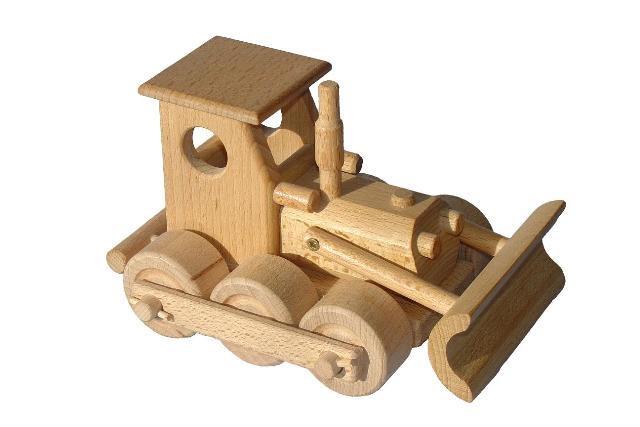 Tractores de madera