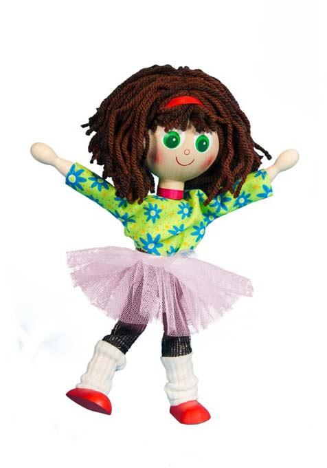 Muñecas de Madera