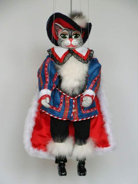 Gato Con Botas Marioneta Titere De Hilos Comprar En El
