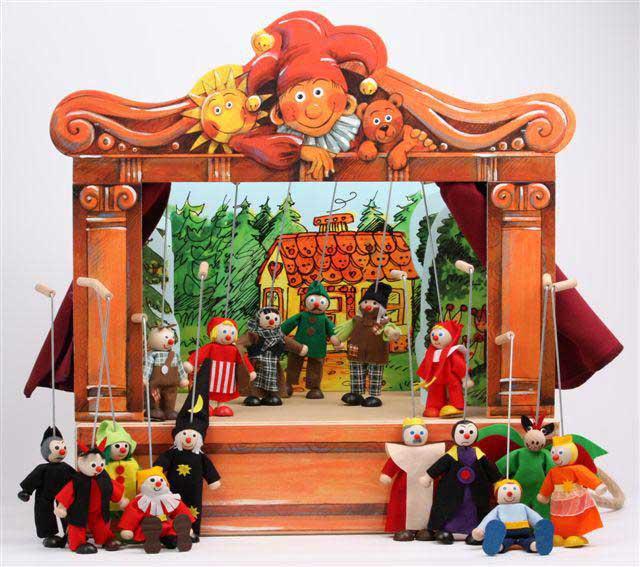 imagen marionetas: