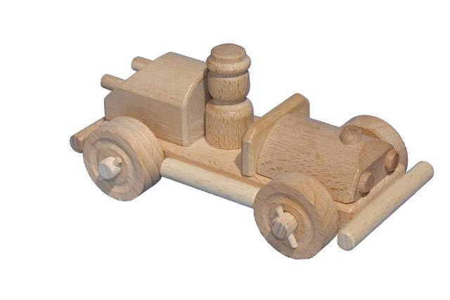 Coche de carreras de madera