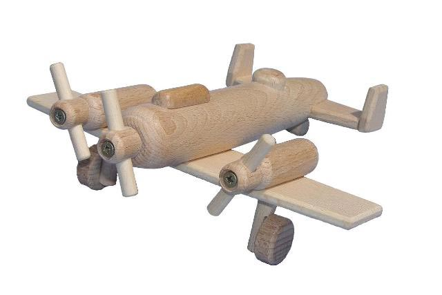 Bombardero de madera