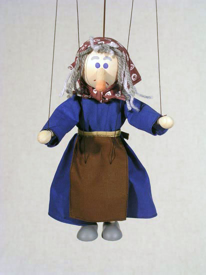 Bruja  marioneta titere