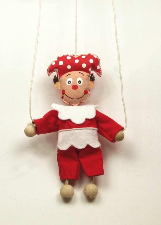 Bufón marioneta titere