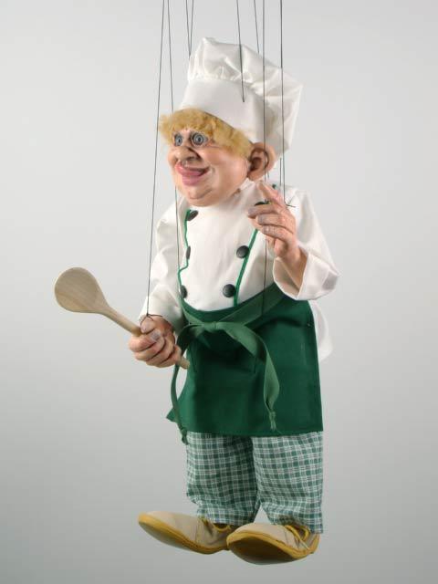 Cocinero marioneta