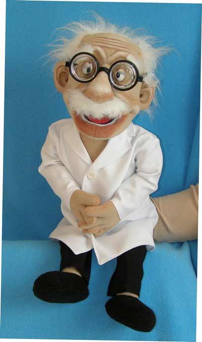Doctor títere de espuma