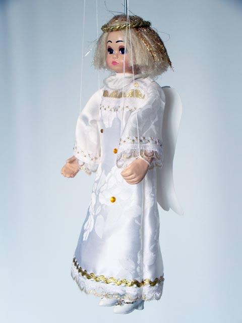 ángel marioneta titere