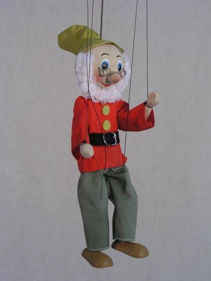 Gnomo marioneta titere