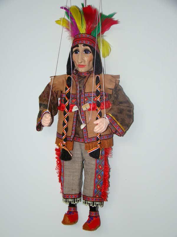 Indio marioneta titere
