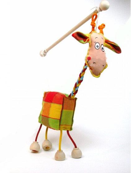 Jirafa marioneta titere