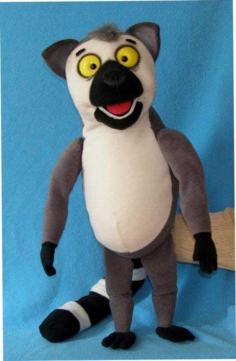 Lémur títere de espuma