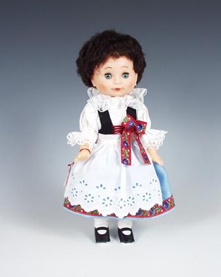 Litomysl , muñeca en trajes nacionales