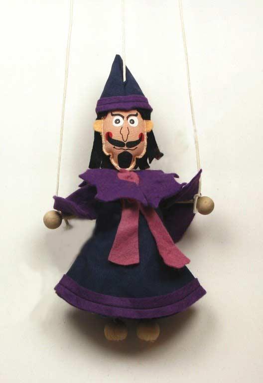 Mago marioneta titere
