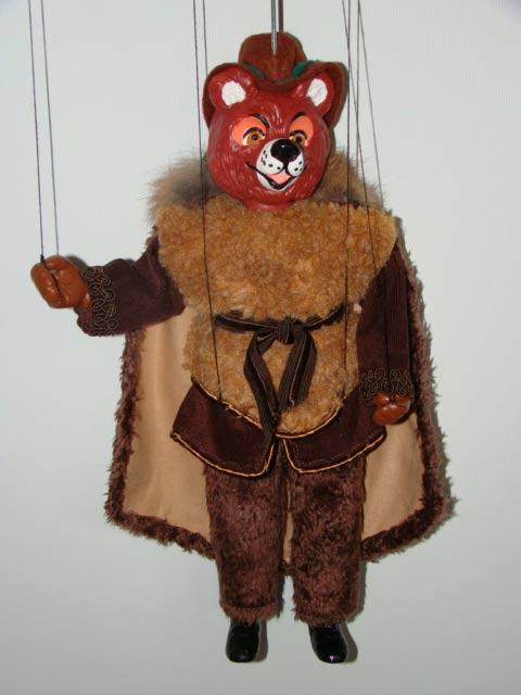 Oso marioneta titere