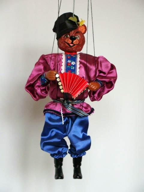 Oso marioneta