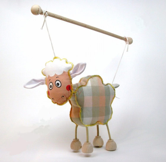 Ovejas marioneta titere