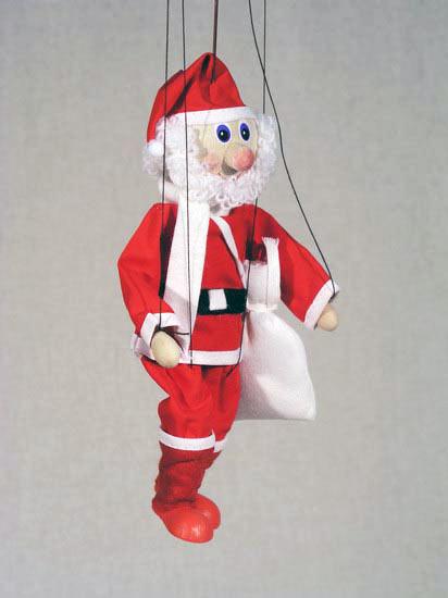 Papá Noel marioneta titere