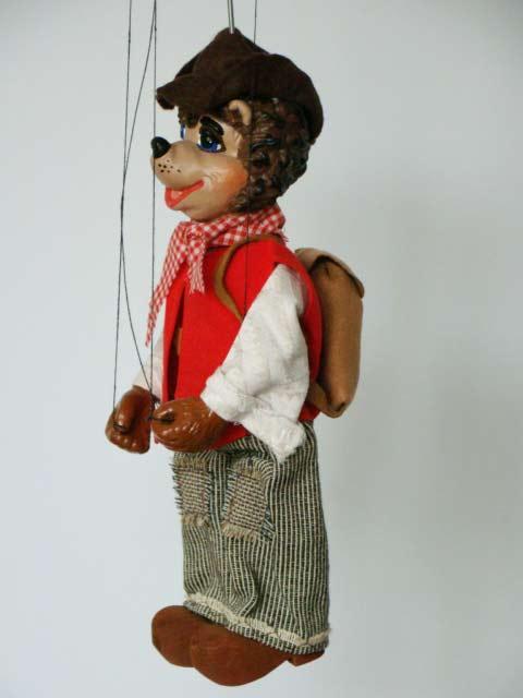Perrito marioneta titere