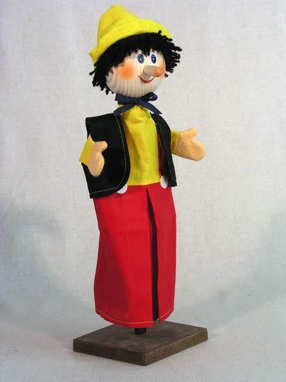 Pinocho títere de mano
