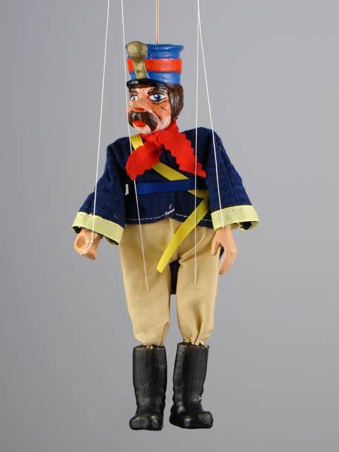 Policía marioneta titere