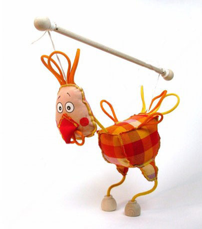 Polla marioneta titere
