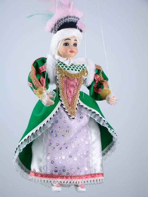 Princesa marioneta titere