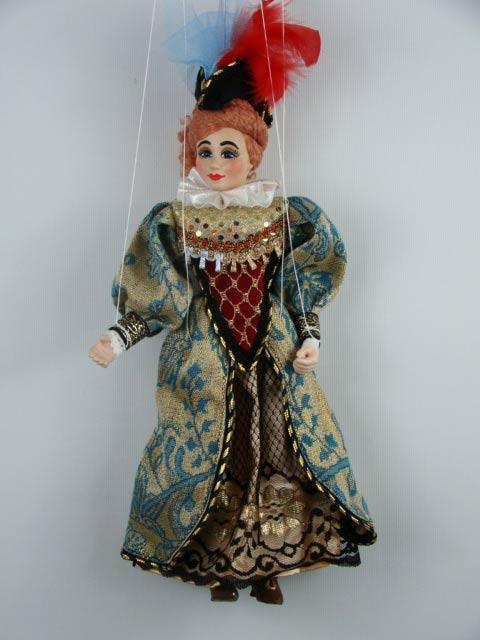 Señora marioneta titere