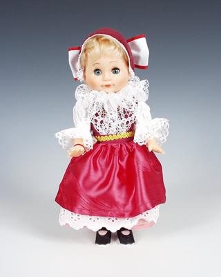 Smichov muñeca en trajes nacionales