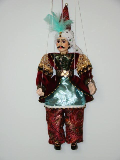 Sultan marioneta titere