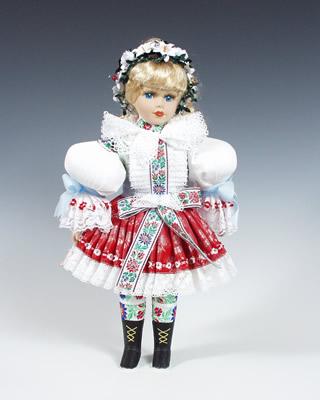 Uhersky brod muñeca en trajes nacionales