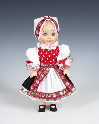 Zahori muñeca en trajes nacionales