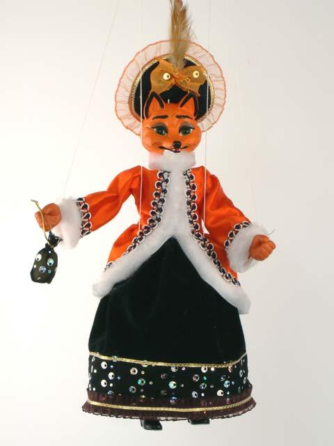 Zorro marioneta titere