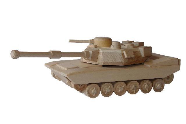 Tanque americano de madera