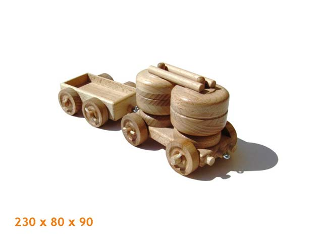 Vagón de carga de madera