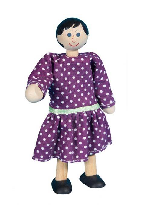 Mamá muñeca de madera