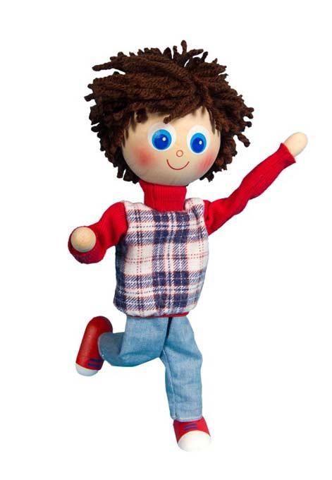 Amigo muñeca de madera