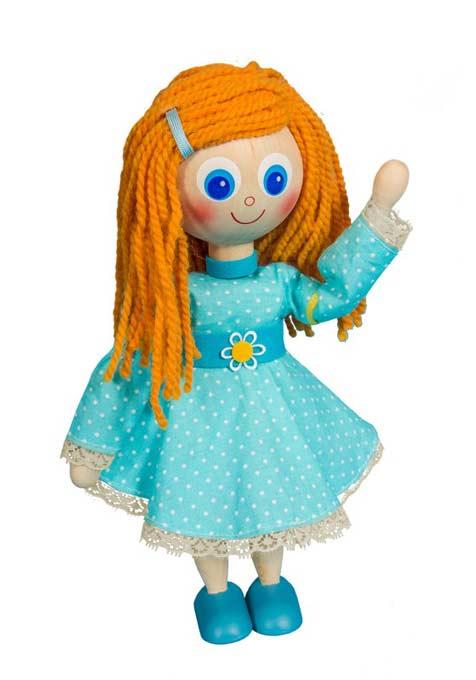 Amiga muñeca de madera