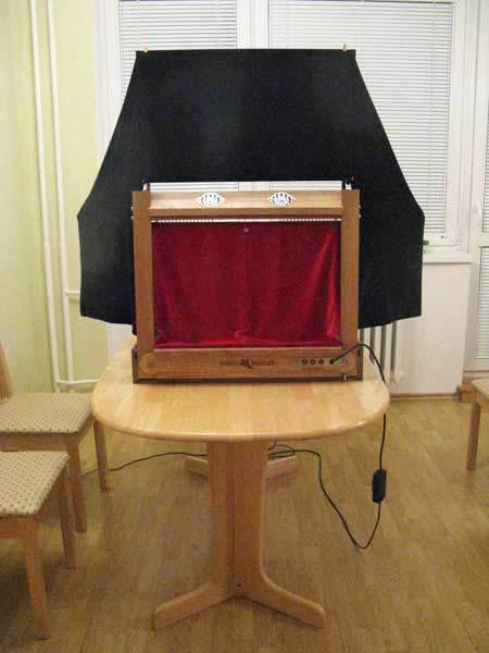 Teatro Marionetas de madera Moderno
