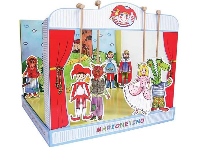 Teatro Marionetas cartón duro universal