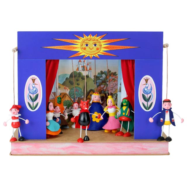 El pequeño Teatro Marionetas Sol