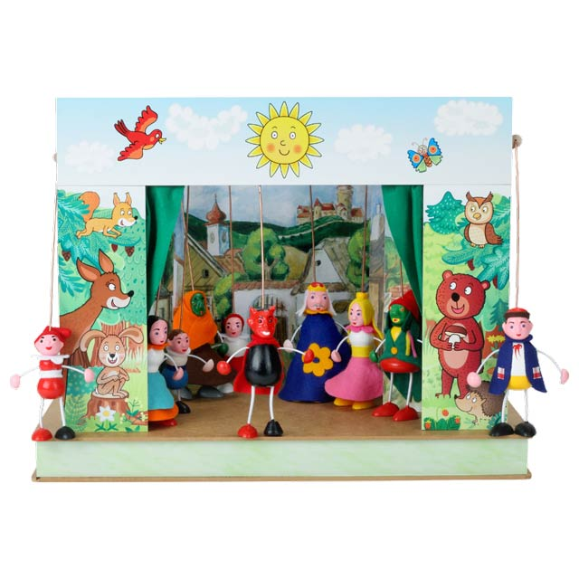 El pequeño Teatro Marionetas Selva
