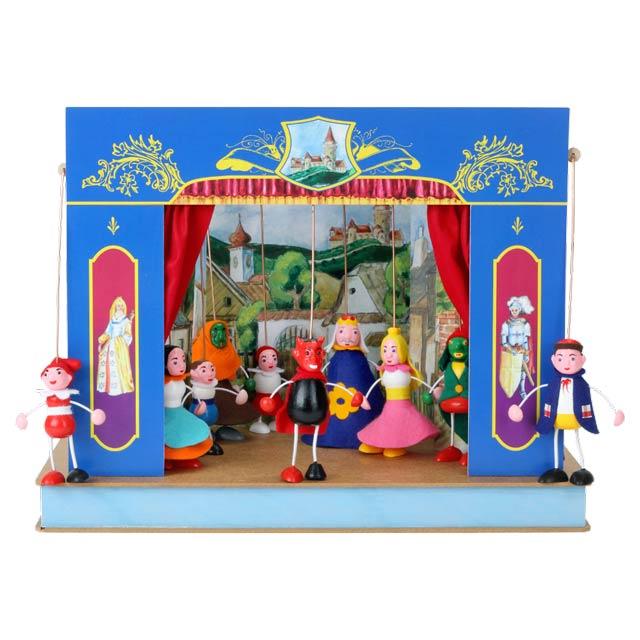 El pequeño Teatro Marionetas Palacio