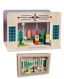 Mini Teatro Marionetas de madera