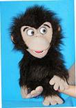 Mono títere de espuma