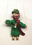 Cazador marioneta titere