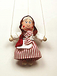 Abuela marioneta titere