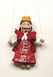 Rey marioneta titere